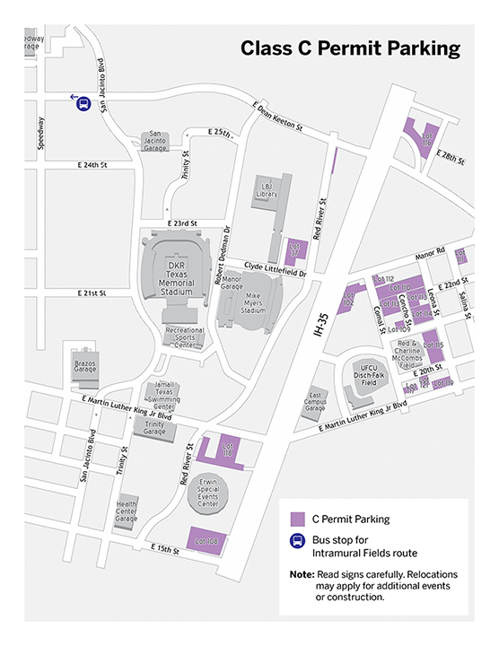 c permit parking map