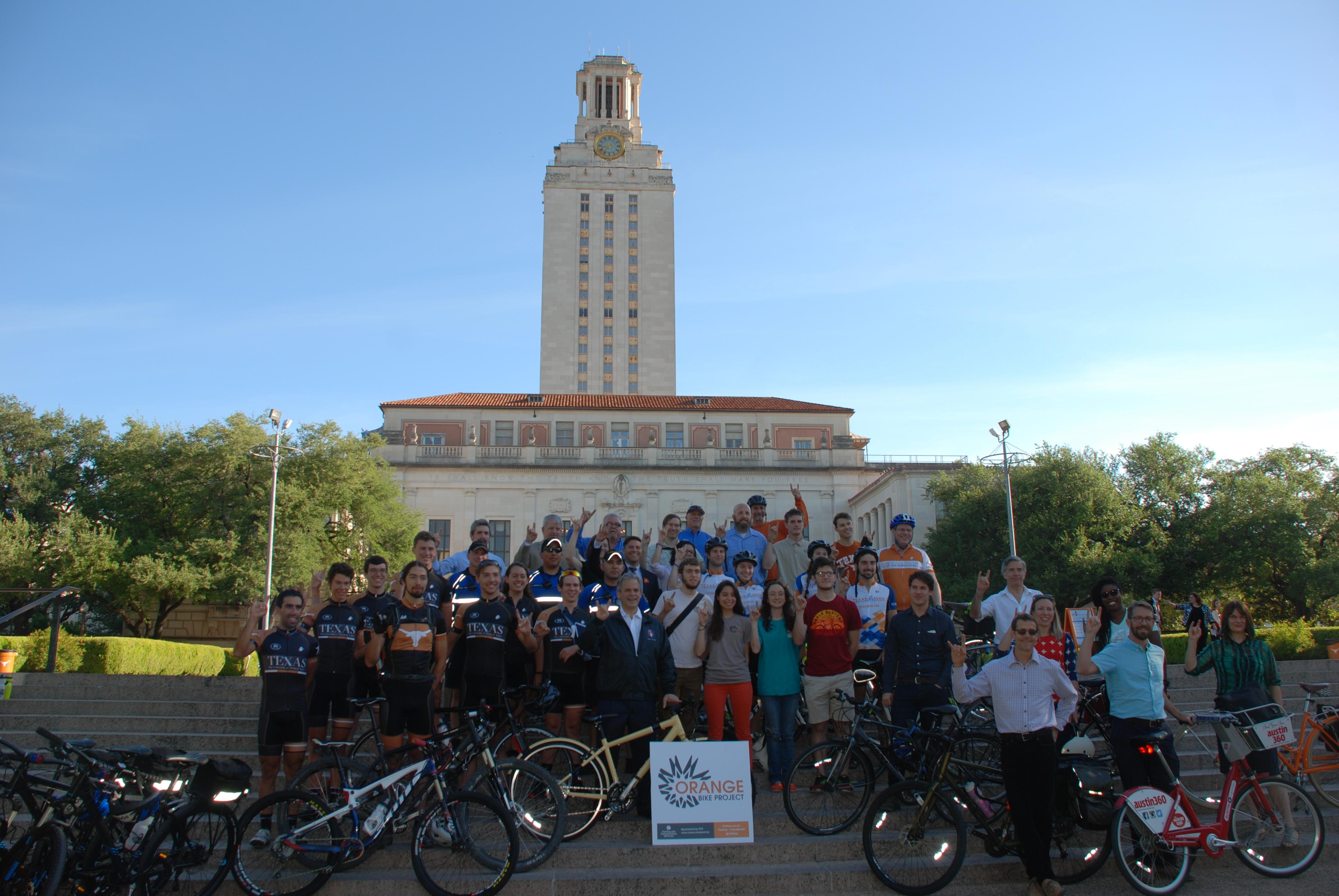 Bike to UT Day 1