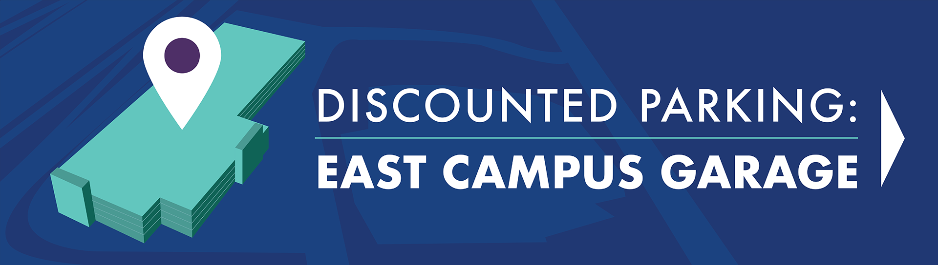 Discount parking east campus garage
