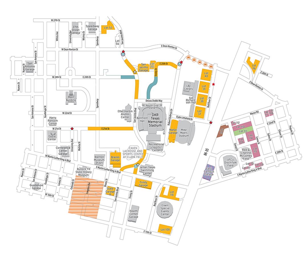 Football Parking Map 2020