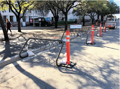 temporary Speedway Bike Racks 2