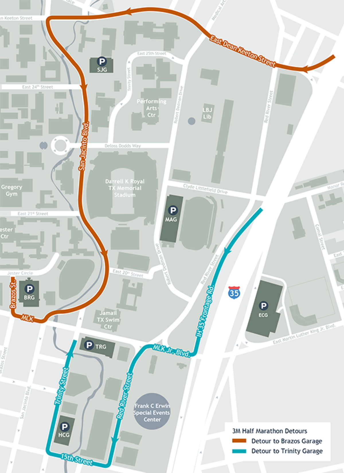 Parking and Traffic Disruptions for the 3M Half Marathon