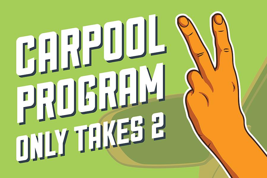 Carpool Program Only takes 2