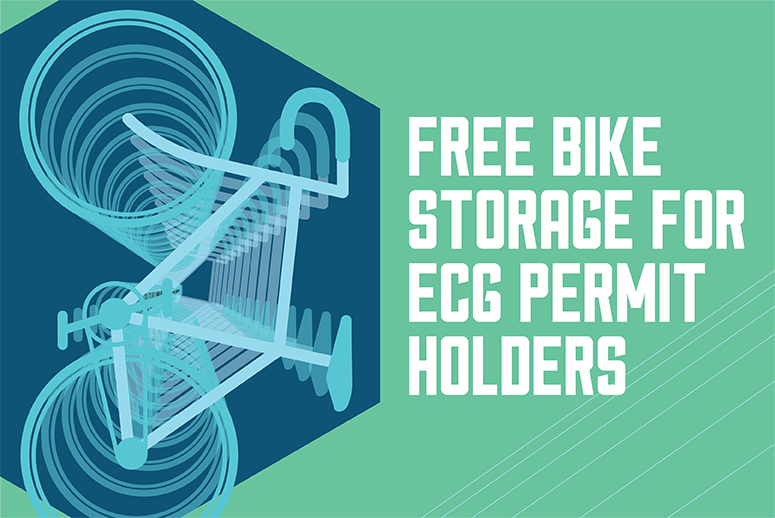 Free Bike Storage for ECG permit holders