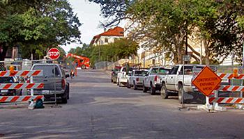 Vendor Parking
