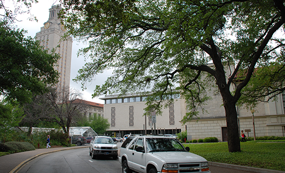 Parking near UT Tower