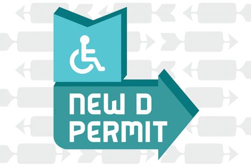 New D permit banner