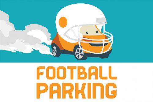 2018 Football Parking flex Illustration