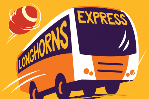 Longhorns Express Get a Ride to the Game