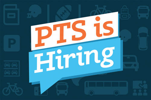 PTS is hiring banner