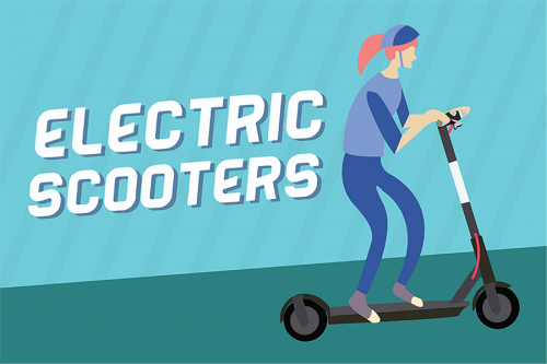 electric Scooters Follow the rules to keep them on campus