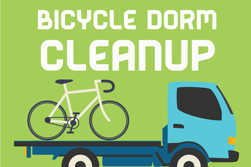 Bicycle Dorm Cleanup 2019