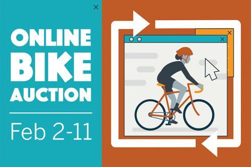 Online bike auction February 2-11 2021