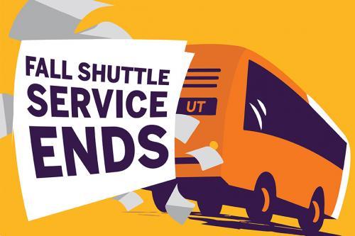 Fall Shuttle Service Ends