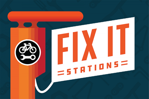 Fixit stations Self-Serve Bike Maintenance