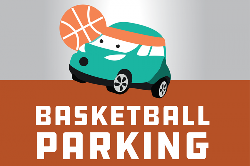 Basketball parking 2018 banner