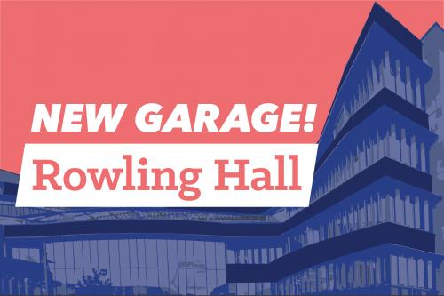New garage! Rowling hall